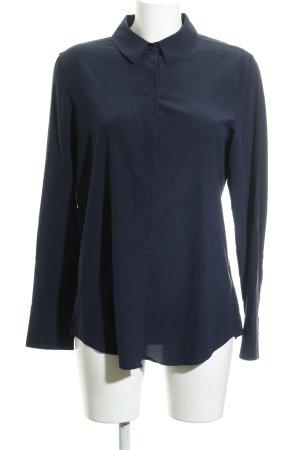 Strenesse Langarm-Bluse dunkelblau Elegant