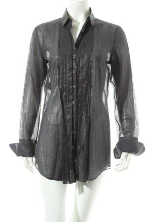Strenesse Camicetta a maniche lunghe grigio scuro stile casual