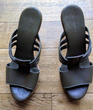 Strenesse Leder Keil Sandaletten