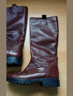 Strenesse Riding Boots brown leather