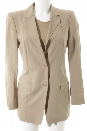 Strenesse Long-Blazer beige Retro-Look