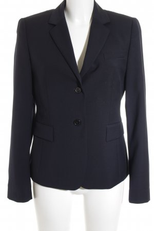 Strenesse Long-Blazer dunkelblau Business-Look