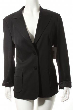 Strenesse Long-Blazer schwarz Business-Look
