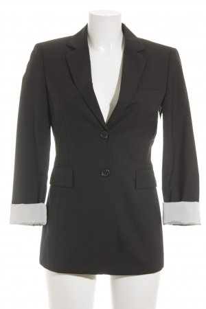 Strenesse Long-Blazer schwarz-weiß Business-Look