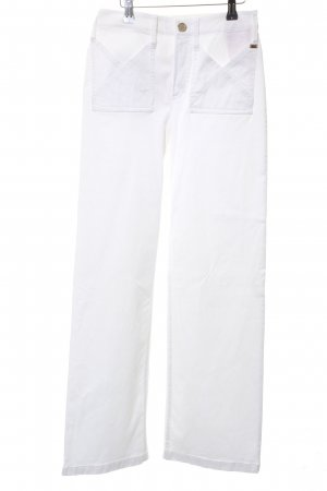 Strenesse Marlene Trousers white casual look