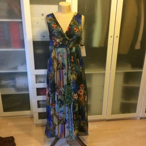 Strenesse Maxi Seiden Kleid Gr. 42 top Zustand