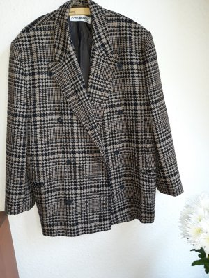 Strenesse Oversized Jacket black-bronze-colored new wool