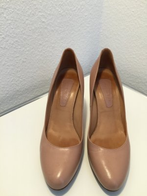 Strenesse Pumps Leder Nude D 40 HighHells UK 7