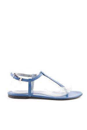 Strenesse Sandales à lanière bleu style décontracté