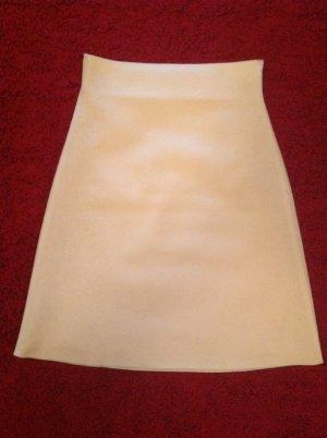 Strenesse Gabriele Strehle High Waist Skirt natural white wool