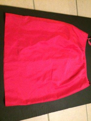 Strenesse Rock aus Seide Fuchsia Pink Gr. 36 38 - NEU