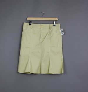 Strenesse Flared Skirt lime yellow-lime-green