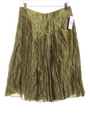 Strenesse Rock olivgrün extravaganter Stil