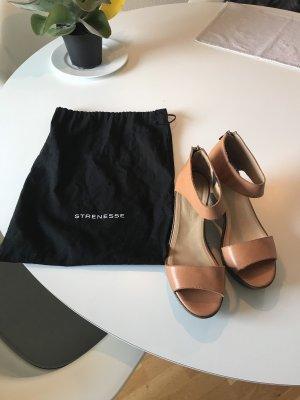 Strenesse Alpargatas nude-marrón claro