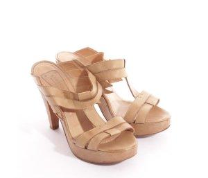 strenesse sandaletten gr. 38 leder nude