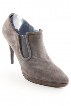 Strenesse Stivaletto slip-on marrone-grigio stile casual