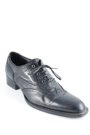 Strenesse Schnürschuhe schwarz Elegant