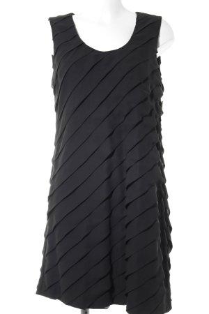 Strenesse Robe épaules nues noir élégant