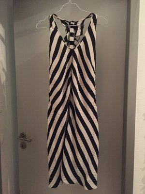 Strenesse - schwarz/weißes Seidenkleid