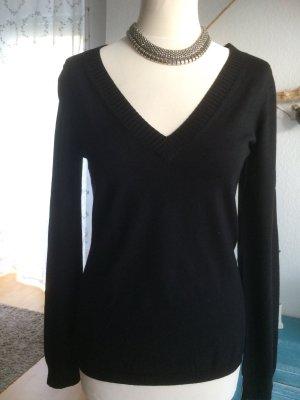 Strenesse schwarzer Pullover Größe L