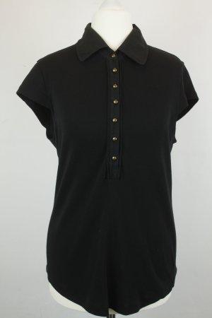 Strenesse Shirt Poloshirt Gr. M schwarz
