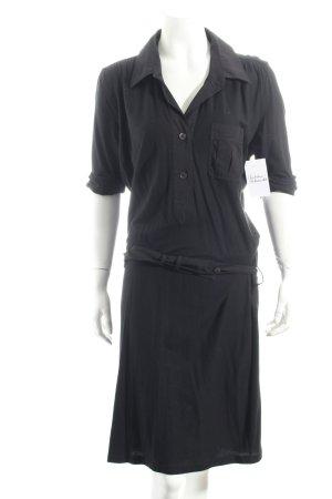 Strenesse Shirtkleid schwarz sportlicher Stil