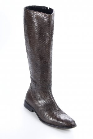 Strenesse Stiefel dunkelbraun extravaganter Stil