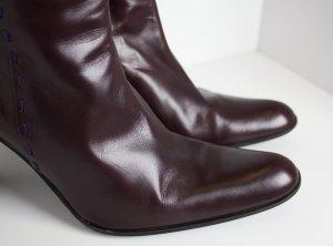 Strenesse Stiefel in Aubergine/Bordeaux
