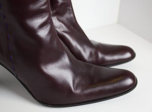 Strenesse Stiefel in Aubergine/Bordeaux