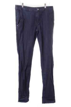 Strenesse Straight-Leg Jeans blau Casual-Look