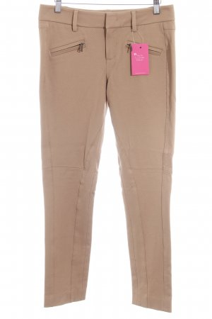Strenesse Stretch broek beige casual uitstraling