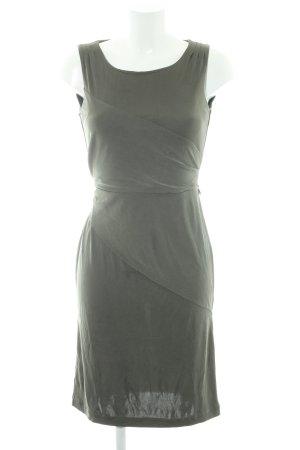 Strenesse Vestido elástico gris verdoso look casual