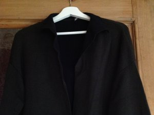 Strenesse Gebreide jas donkergroen-donkerblauw