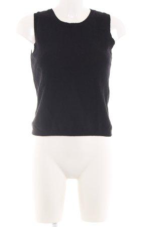 Strenesse Jersey de punto negro look casual