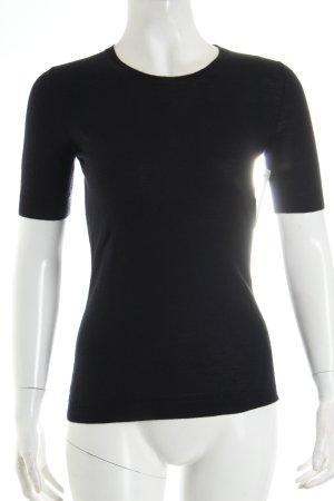 Strenesse Strickshirt dunkelblau Casual-Look