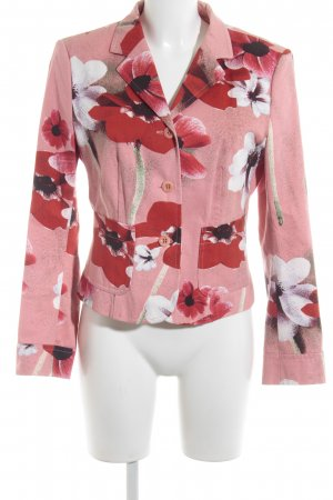 Strenesse Sweat Blazer flower pattern romantic style