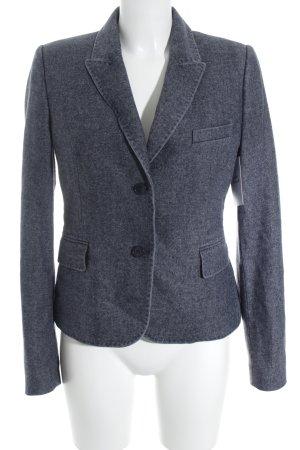 Strenesse Sweatblazer graublau meliert klassischer Stil