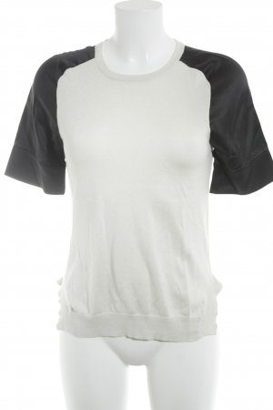 Strenesse T-Shirt schwarz-creme Casual-Look