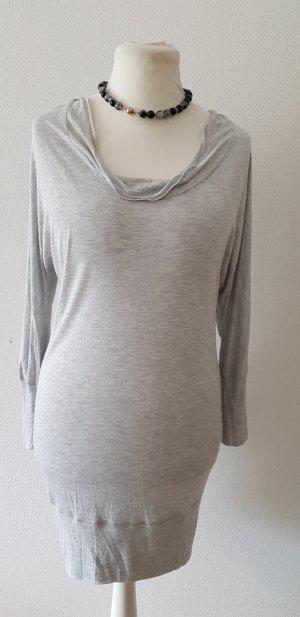 Blue Strenesse Shirt Dress light grey