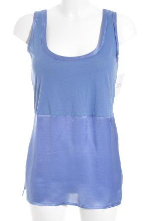 Strenesse Tanktop blau Casual-Look