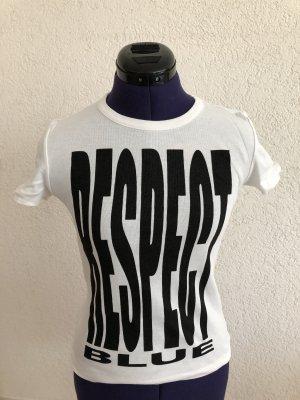 Blue Strenesse T-Shirt white-black