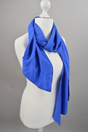 Strenesse Tuch Seide blau