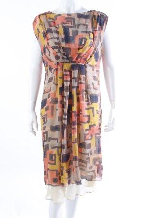 Strenesse Robe tunique multicolore soie