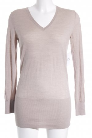 Strenesse V-Neck Sweater cream flecked casual look
