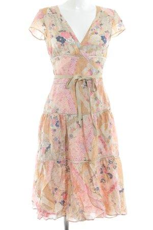 Strenesse Vestido cruzado estampado floral Estilo playero