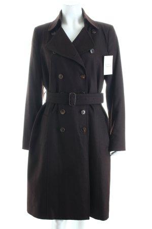 Strenesse Cappotto invernale marrone scuro stile classico