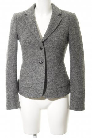 Strenesse Woll-Blazer grau meliert Business-Look