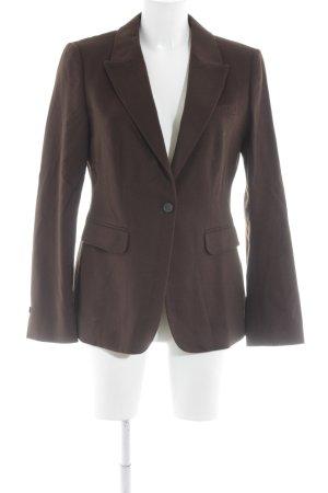 Strenesse Blazer in lana marrone-rosso stile professionale