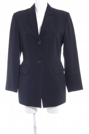 Strenesse Wool Blazer dark blue business style