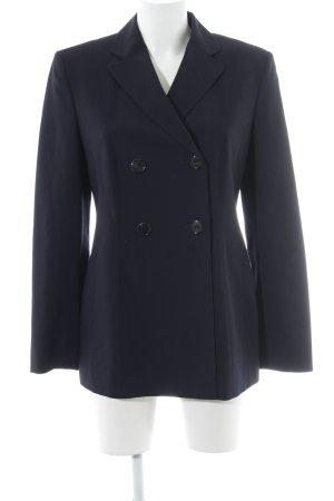 Strenesse Blazer in lana blu scuro stile professionale